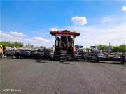 建工中大抗离析摊铺设备在吉林前进大街南延长线、宁夏乌玛高速、内蒙大查高速施工