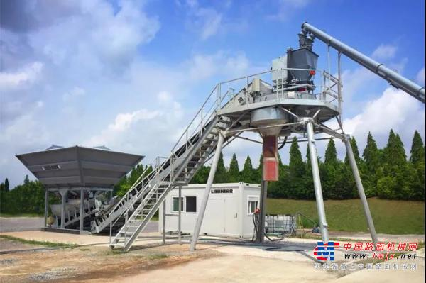 精微见博大,四两拨千斤 | 利勃海尔新品1方混凝土搅拌站:LCM1.0