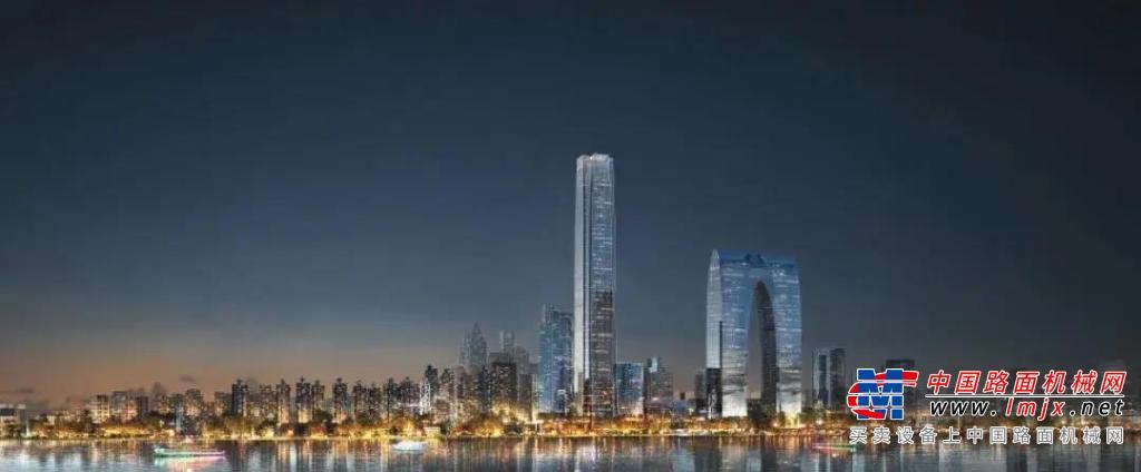 """鏖战60小时!徐工泵车为全球最高公寓筑下""""凌云之基""""!"""
