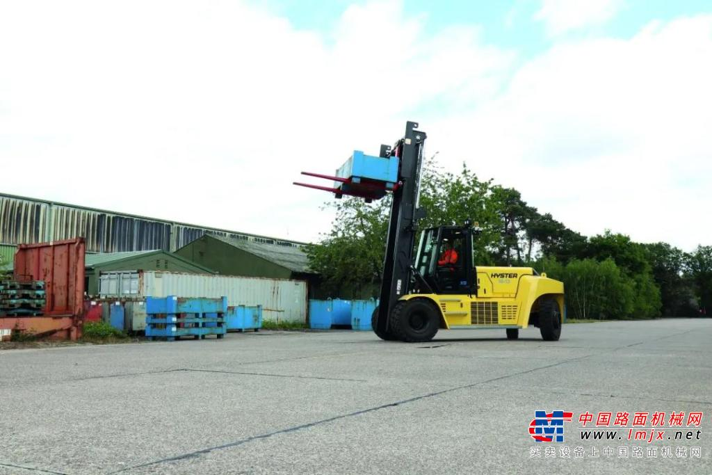 海斯特J10-18XD大吨位电动叉车先行预告!