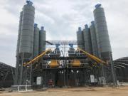 235国道老余杭至五常段改建工程两套福建信达机械混凝土搅拌站顺利通过验收