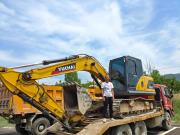 山西代县杨老板:玉柴挖掘机伴我一起建设美丽家乡