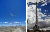 5150米!中联重科履带吊再创全球最高海拔风电吊装新纪录