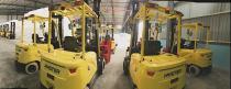海斯特叉车在传统造纸行业的应用案例