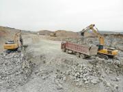 """2万4千小时依旧高产!40台柳工挖掘机在山东矿山越""""打""""越出彩"""