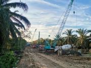 """山河智能:""""疫""""势增长!马来西亚东海岸铁路(ECRL)桩基项目进入建设高峰期"""