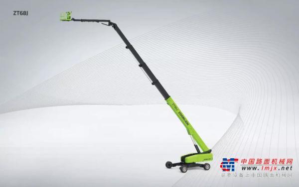 全球第一 ! 中联重科自行走直臂式高空作业平台ZT68J