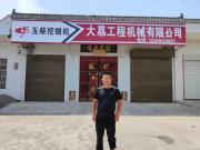 【用户故事】陕西渭南钱老板:3台玉柴挖掘机是我创富的好同伴