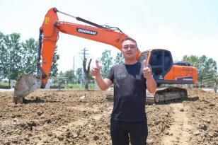 【用户故事】斗山挖掘机凭真本事赢得老司机信赖!