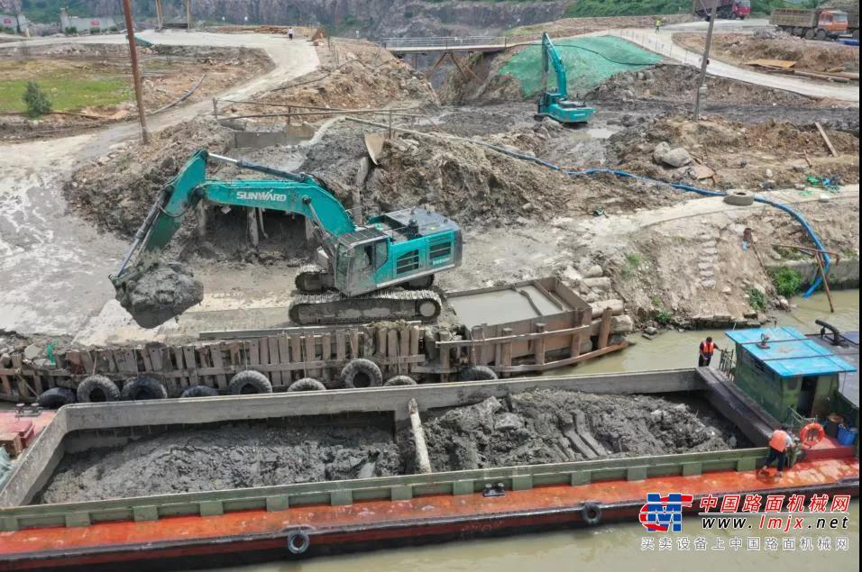 初心源地,山河智能挖掘机实力大显 | 百年风华筑锦绣山河(1)