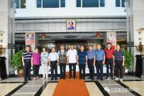 原北京卫戍区副参谋长、仪仗队大队长于华礼一行领导参观方圆集团