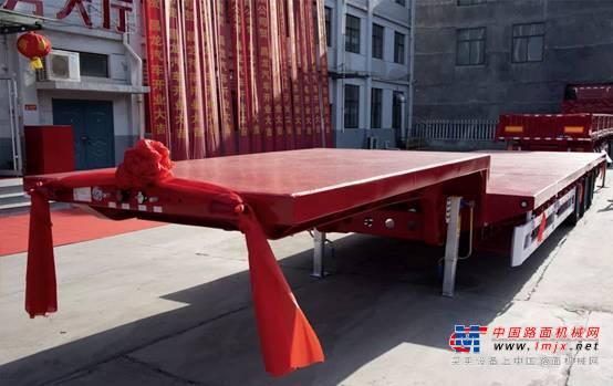 亮点满满!详解昌龙汽车13.75米低平板半挂车