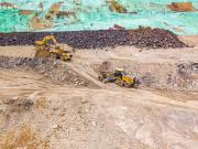 徐工平地机在云南磷矿道路维护中的应用