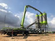 一带一路|极光绿成套设备闪耀加纳 中联重科为非洲建设添砖加瓦
