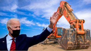 """美国万亿基建方案获批,主要聚焦道路、桥梁和隧道等""""硬""""基础设施项目"""