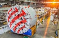 中国出口欧洲最大直径土压平衡盾构机正式下线