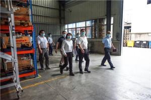 滁州市市长吴劲一行莅临凯斯特(滁州)工厂调研