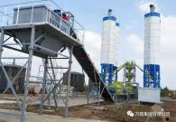 方圆稳定土拌和站服务长春至太平川高速公路建设