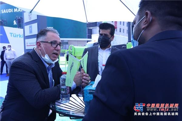 精兵强将齐聚,中联重科产品闪耀中东迪拜五大行业展