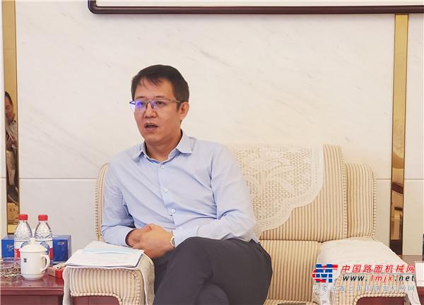 高德包装机械产品资讯BICES 2021走进系列报道之吴培国秘书长一行走访北京建工