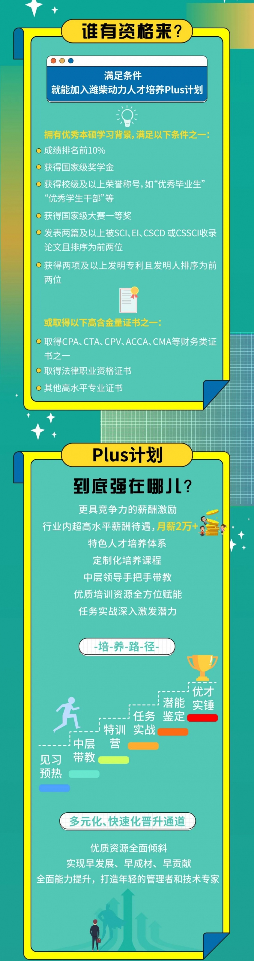高德包装机械产品资讯Plus计划强势登场丨潍柴动力2022年校园招聘又放大招!