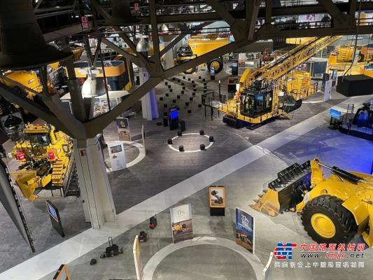 卡特彼勒在MINExpo 2021上展示采礦業未來