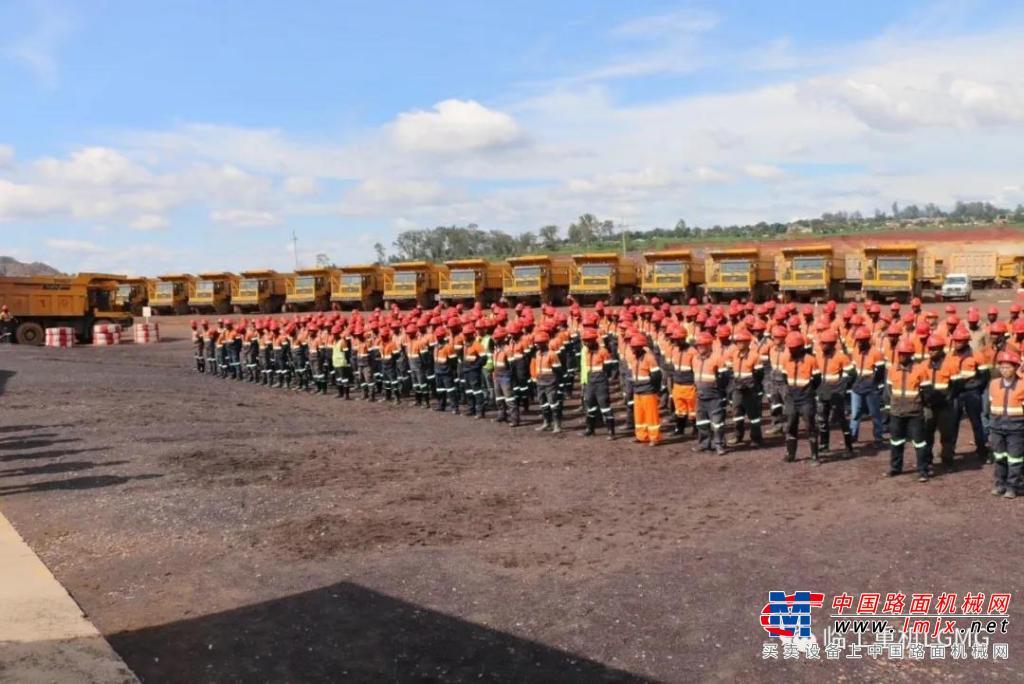 高德包装机械产品资讯一带一路铺就繁荣底色,临工矿车助力海外矿山开采