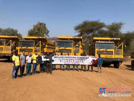 一帶一路鋪就繁榮底色,臨工礦車助力海外礦山開采