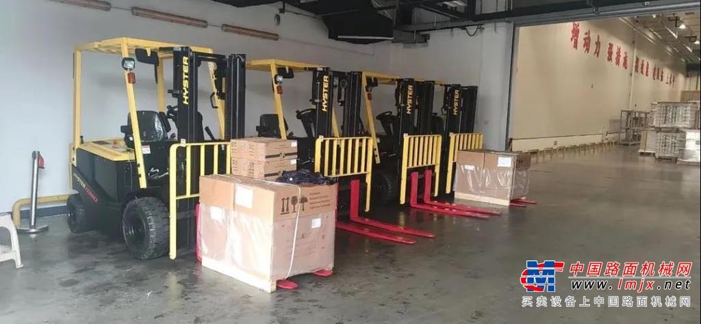 高德包装机械产品资讯海斯特叉车在烟草储运行业再掀交车热潮!
