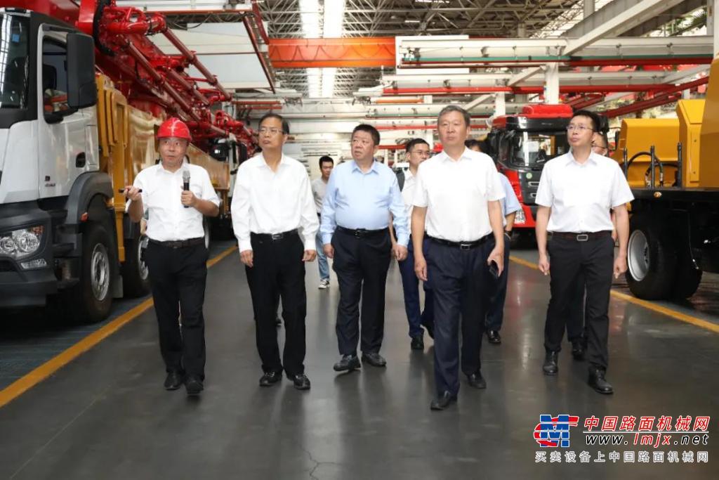 高德包装机械产品资讯中石油首席专家到访三一集团