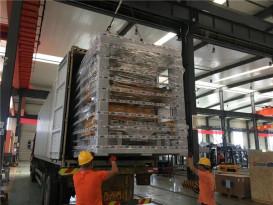 项目发货 泉工股份两套QT6全自动砌块成型机生产线发货肯尼亚,助力市政建设