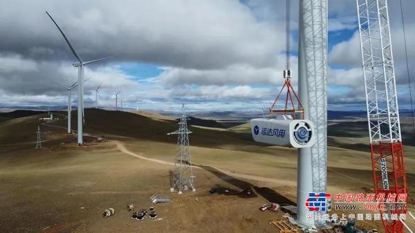 世界海拔最高!中联重科起重机助力西藏哲古风电场全部机组吊装完成