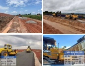 中交西筑公司柬埔寨路面施工项目组雨季施工记