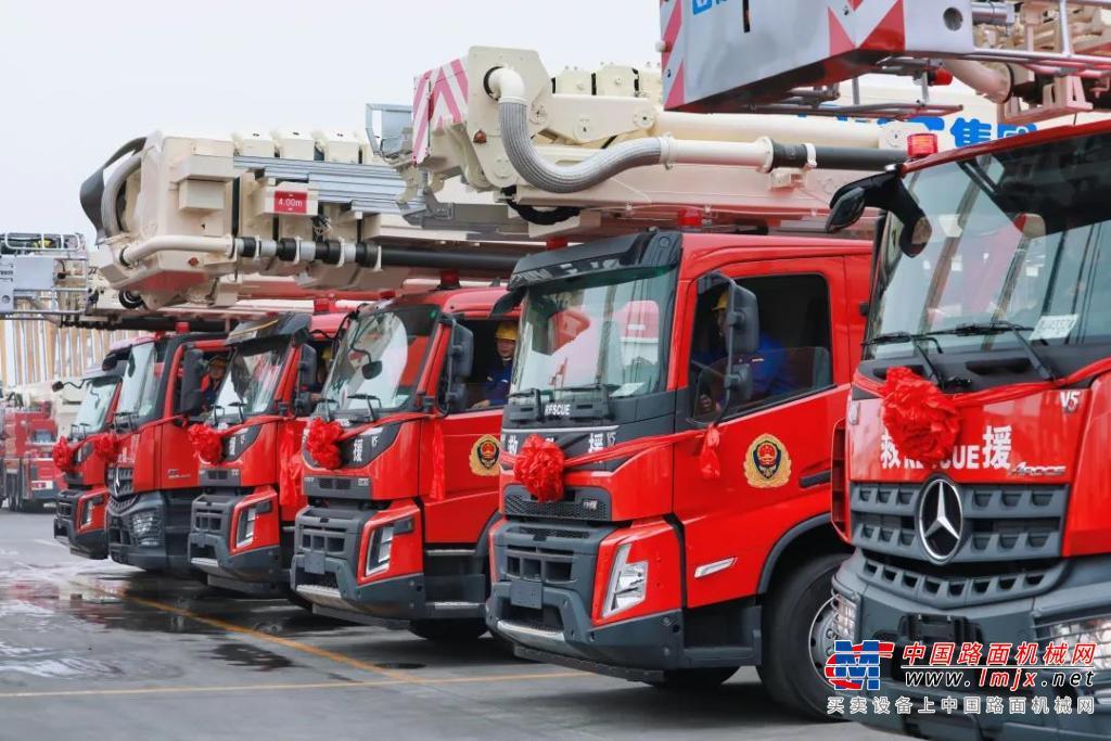 倒计时3天丨徐工成套应急救援装备出征2021北京消防展