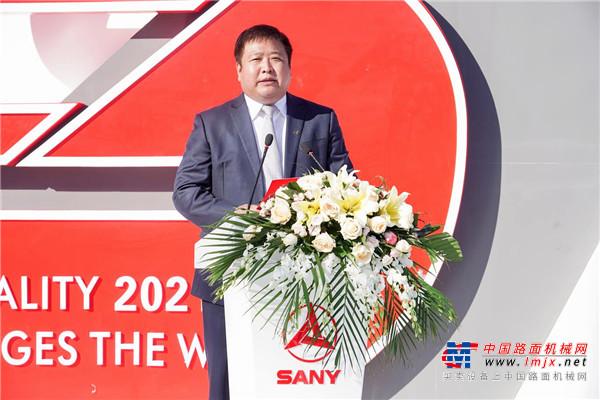 2021中国消防展开幕 沃尔沃卡车携手三一重工战略合作再升级