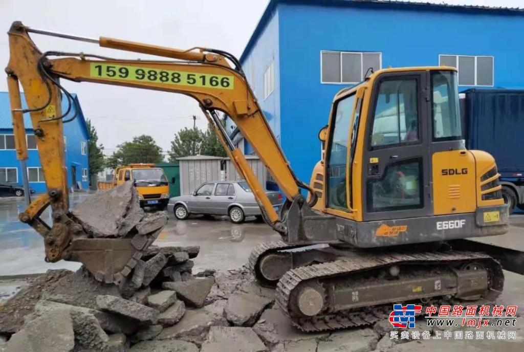 工程建设之利器!临工E660F挖掘机用高效率、低油耗创造更大的客户价值