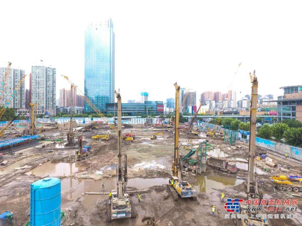 会师武汉 徐工旋挖军团为55亿项目打基础!