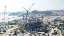 """5天3台!ZCC3200NP助力华龙一号""""漳州核电1号机组蒸汽发生器吊装,创世界之最"""
