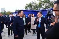 山东省委副书记、代省长周乃翔赞誉山推5G高端装备