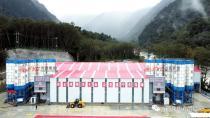【产品风采】HZS180D型箱式斗提搅拌站——川藏铁路再展风采