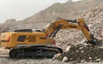 利勃海尔R 966液压挖掘机交付甘肃祁连山水泥