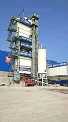 安迈沥青搅拌沧海桑田站保证了生产的连续性