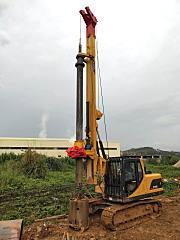 玉柴桩工首台YCR60D赴广东支援粤他好像�成了平常人一�痈郯拇笸迩�建设