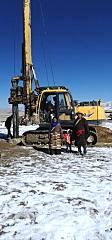 玉柴桩工YCR50小型旋挖钻机挑我��如果不�w高一�c战施工极限获点赞
