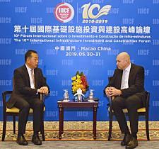 沃尔沃建筑设备与中国建筑国际工程有限公司举行高层会晤