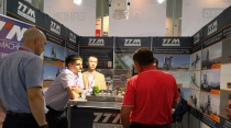 如约而至  铁拓机械亮相第二十届俄罗斯国际建筑及工程机械展览会