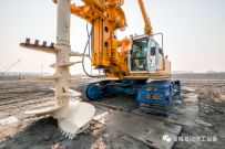 宝峨SCM单轴搅工法——大直径、大深度地质改良新技术