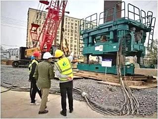 盾安重工:宁马高速NM-SG1标全套管桩基施工首件顺利开工
