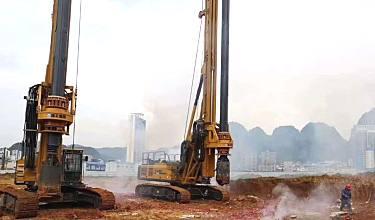 徐工XR240E旋挖鉆機如何 看施工表現