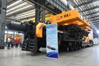 铁建重工国产首台新型千米级水平取芯钻机成功下线